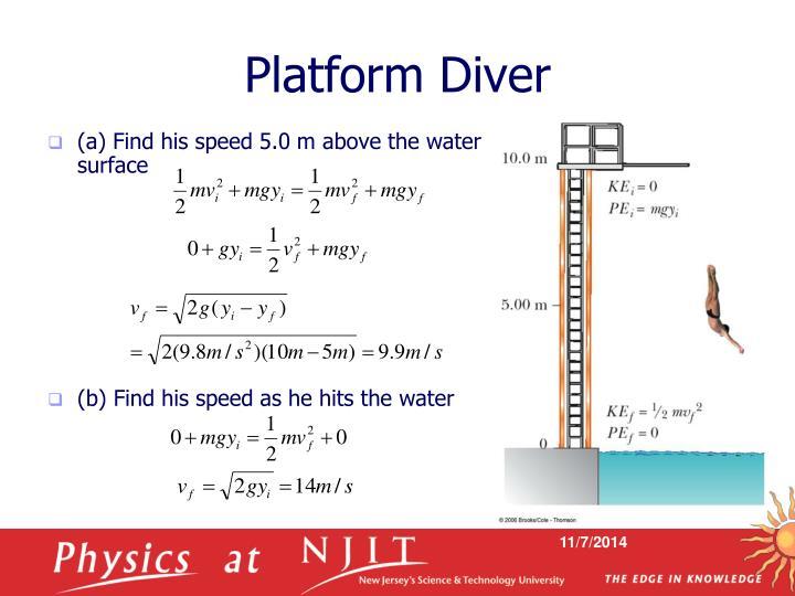 Platform Diver
