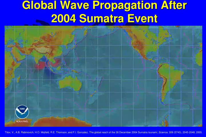 Global Wave Propagation After