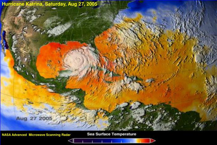 Hurricane Katrina, Saturday, Aug 27, 2005