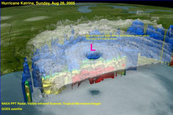 Hurricane Katrina, Sunday, Aug 28, 2005