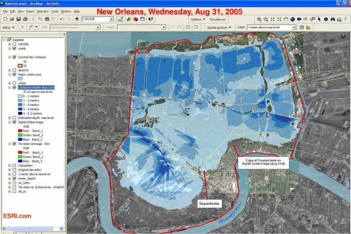 New Orleans, Wednesday, Aug 31, 2005