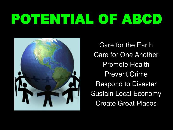 POTENTIAL OF ABCD