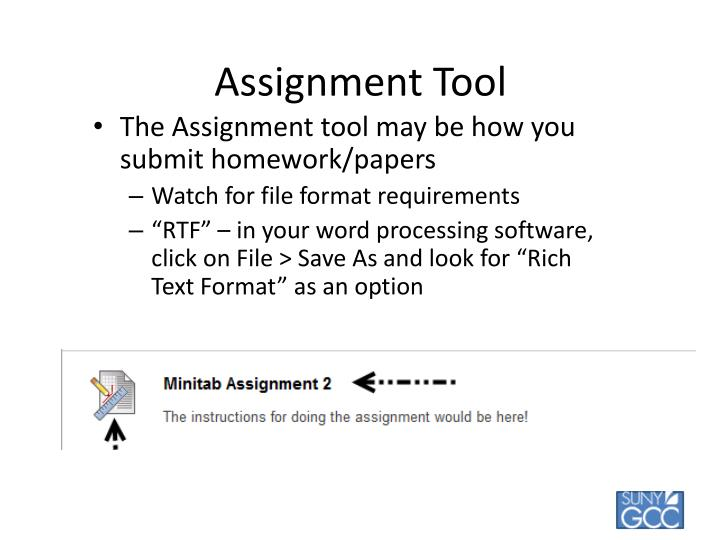 Assignment Tool