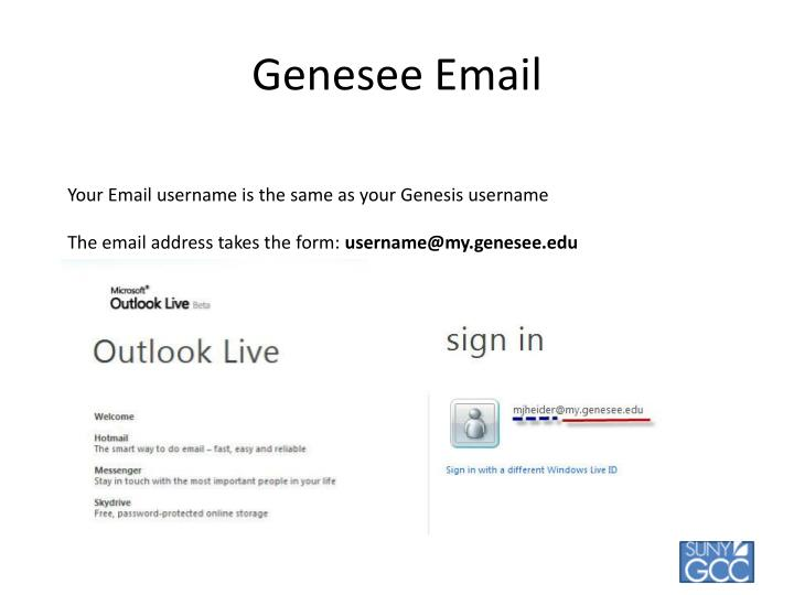 Genesee Email