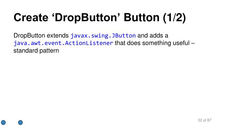 Create 'DropButton