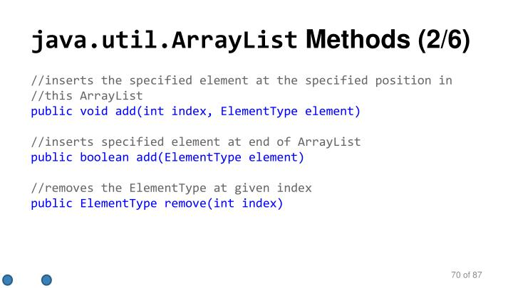 java.util.ArrayList