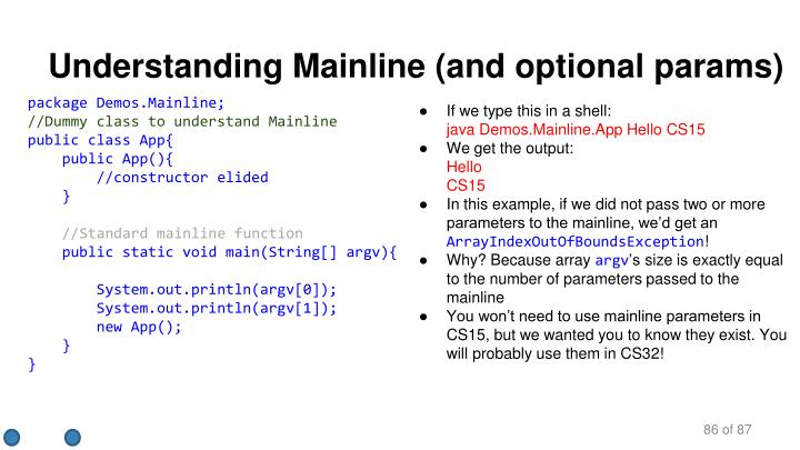 package Demos.Mainline;