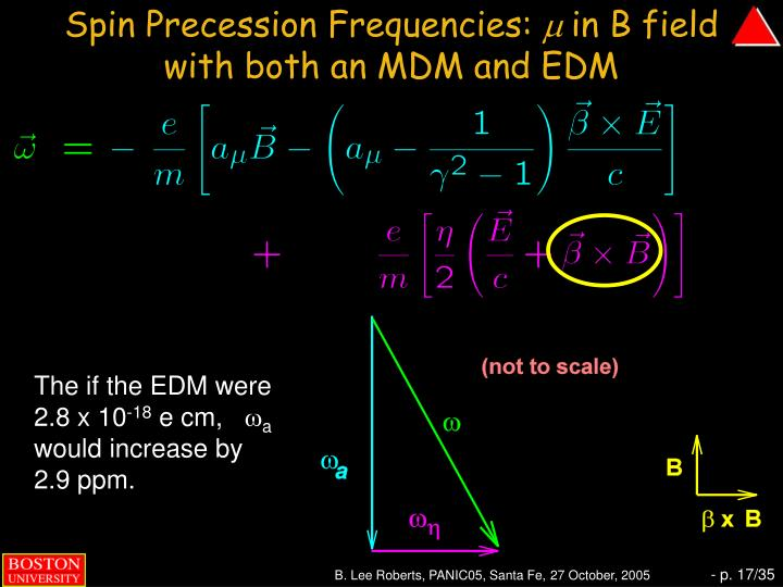Spin Precession Frequencies: