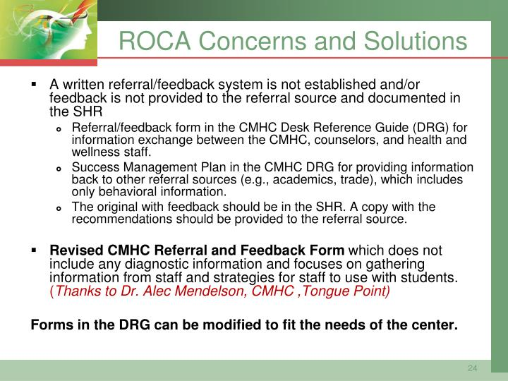 ROCA Concerns and Solutions