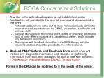 roca concerns and solutions1