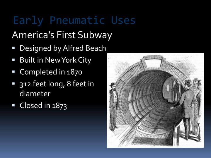 America's First Subway