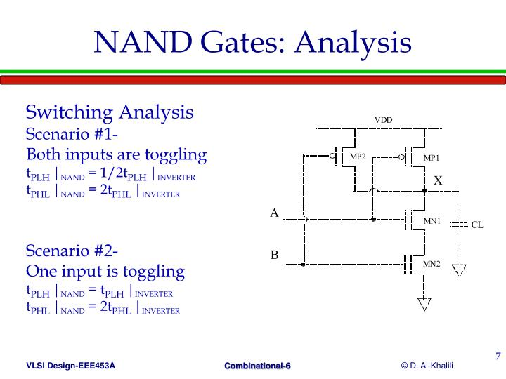 NAND Gates: Analysis