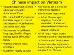 chinese impact on vietnam