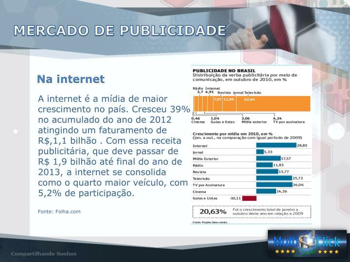 MERCADO DE PUBLICIDADE