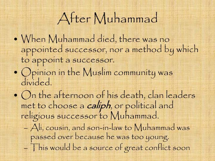 After Muhammad