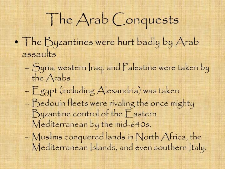 The Arab Conquests