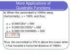 more applications of quadratic functions8