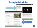 sample modules