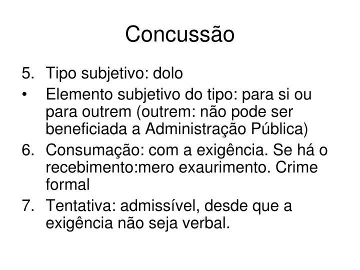 Concussão