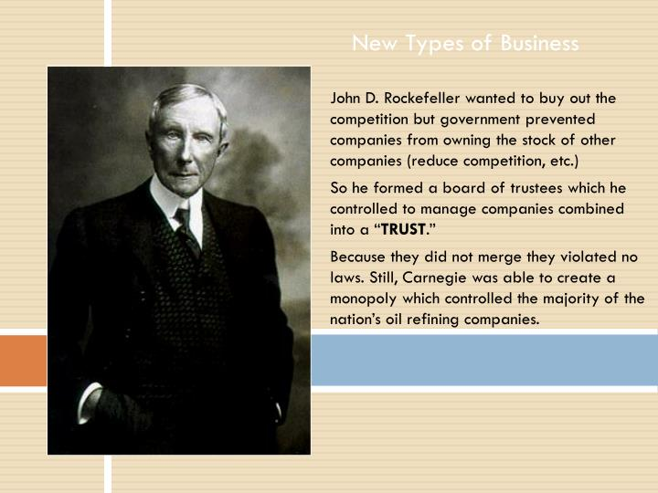 New Types of Business