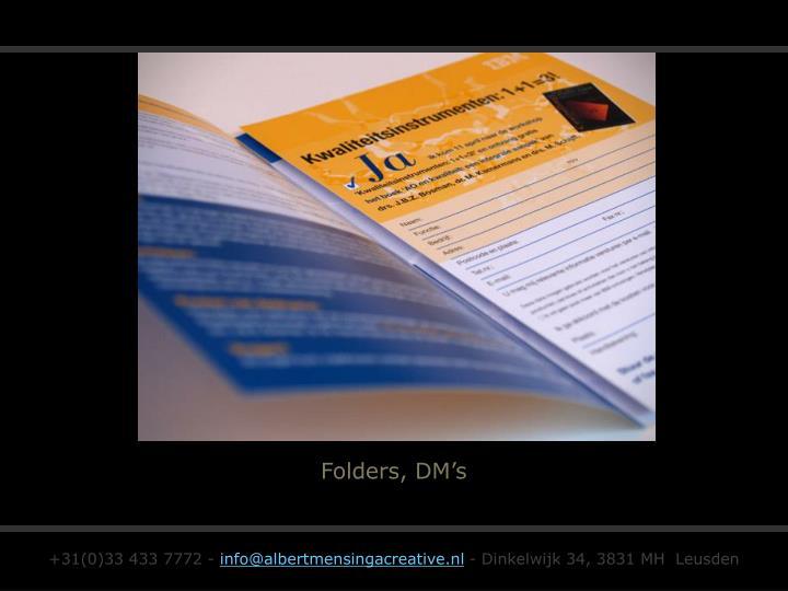 Folders, DM's