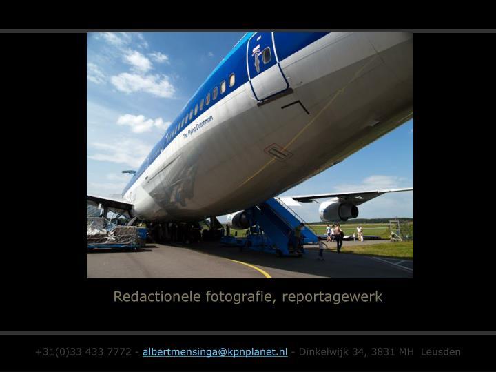 Redactionele fotografie, reportagewerk