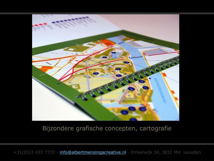 Bijzondere grafische concepten, cartografie