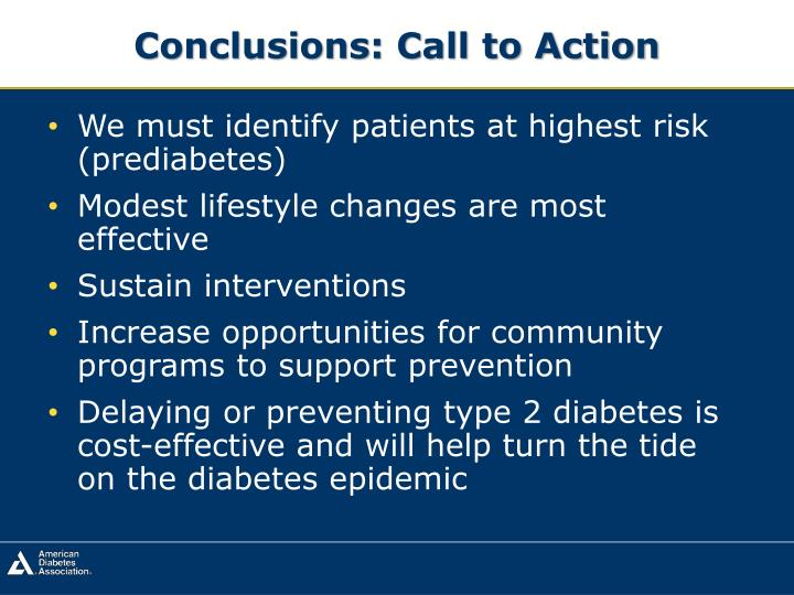 Conclusions: Call to Action