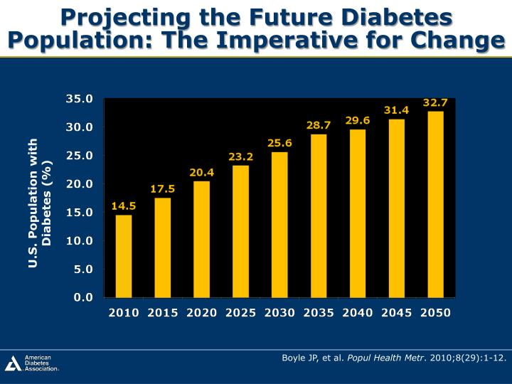 Projecting the Future Diabetes Population: The Imperative for Change