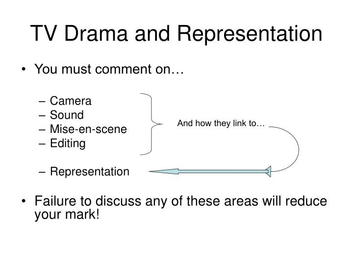 Tv drama and representation1