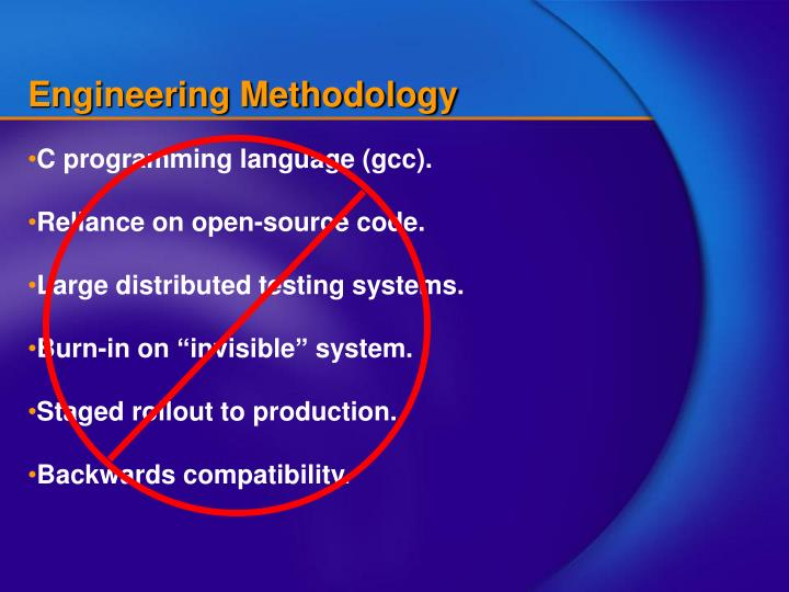 Engineering Methodology