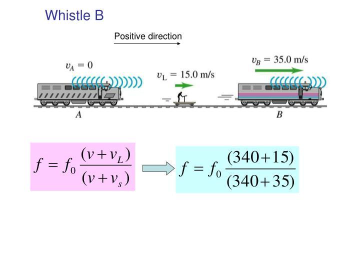Whistle B