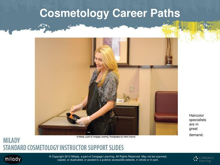 Cosmetology Career Paths