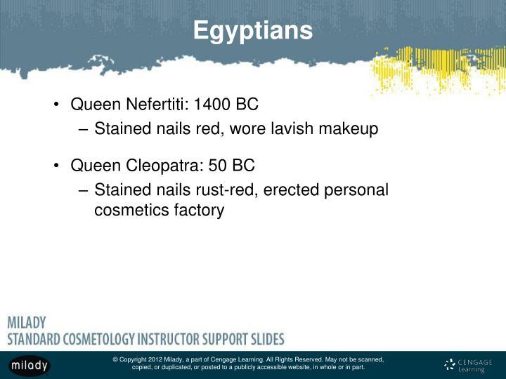 Queen Nefertiti: 1400 BC