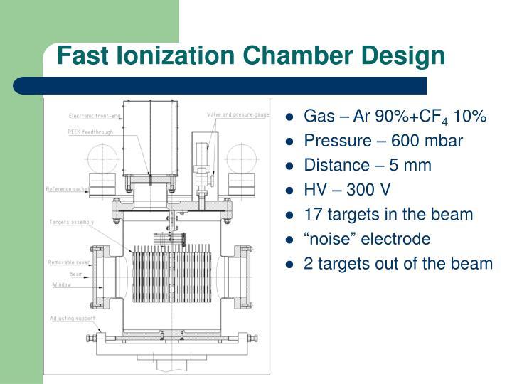 Fast Ionization Chamber Design
