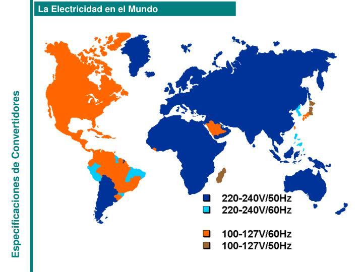 La Electricidad en el Mundo