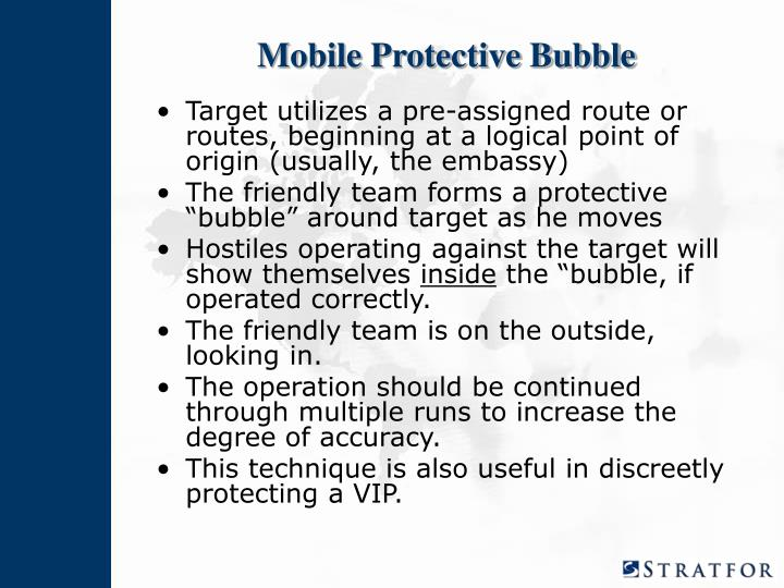 Mobile Protective Bubble