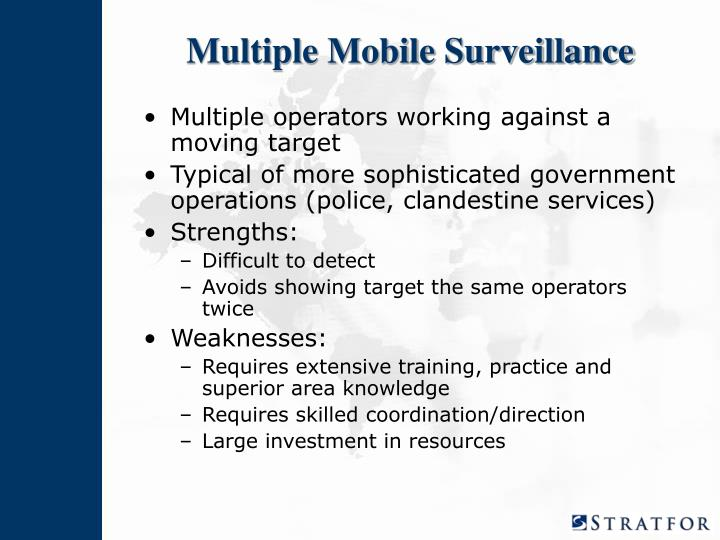 Multiple Mobile Surveillance