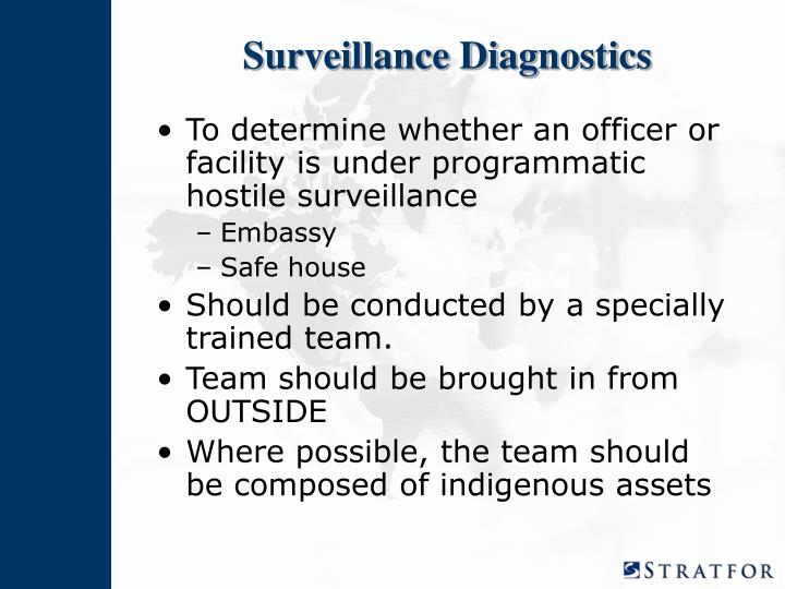 Surveillance Diagnostics