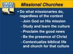 missional churches