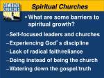 spiritual churches