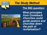 the study method