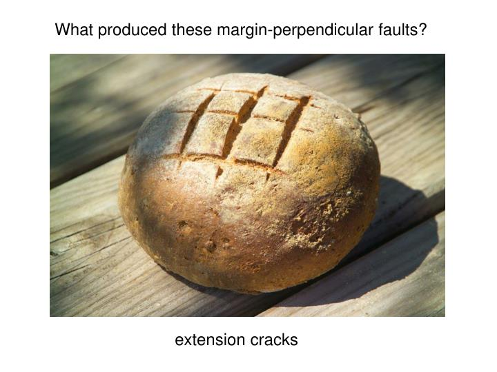 extension cracks
