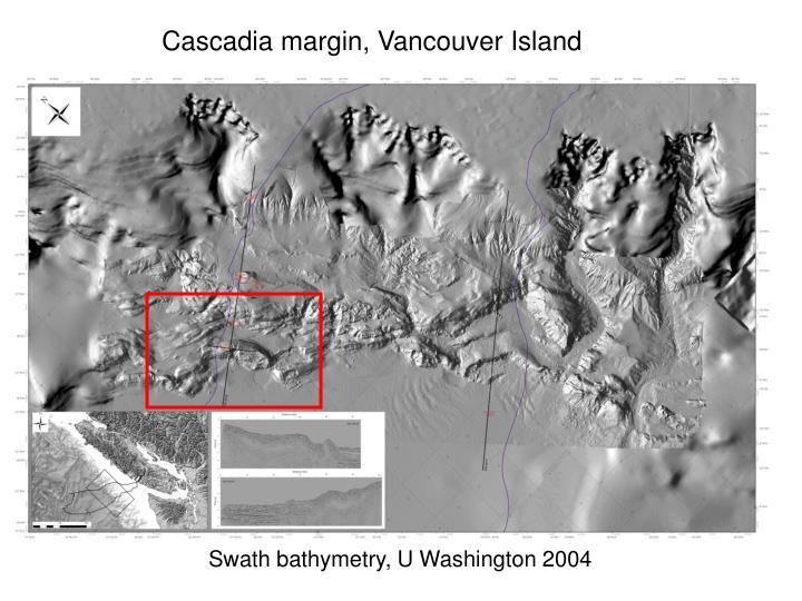 Cascadia margin, Vancouver Island