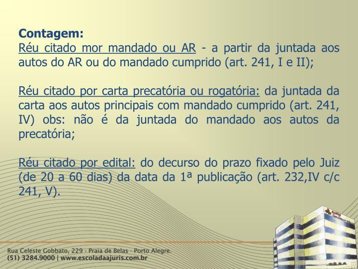 Contagem: