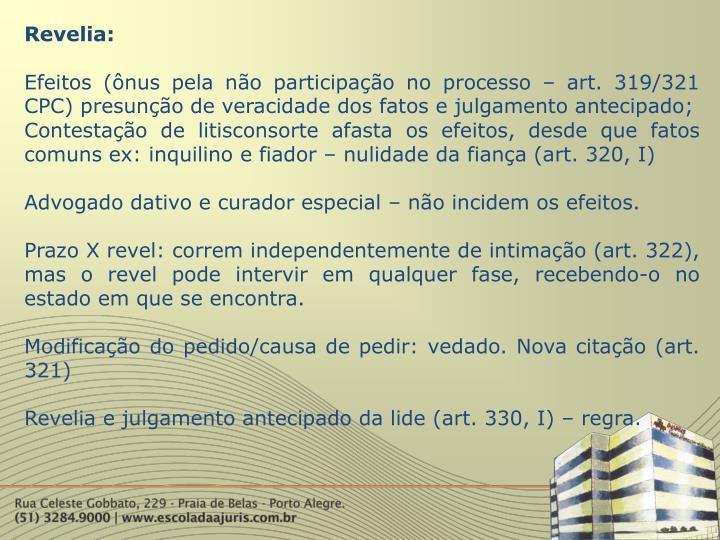 Revelia: