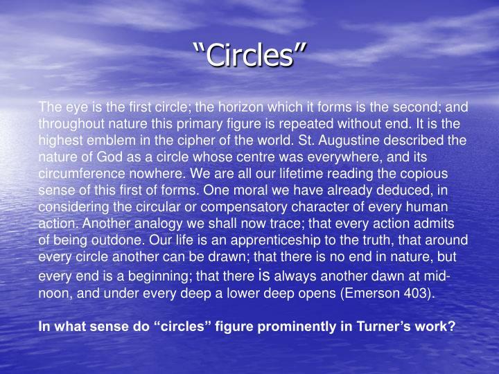"""""""Circles"""""""