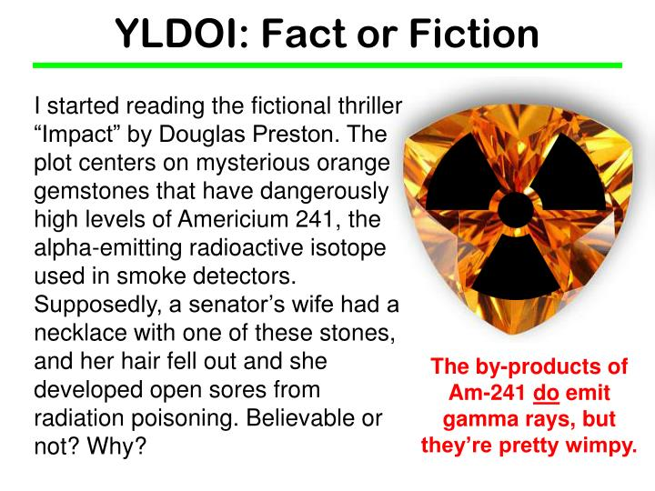 Yldoi fact or fiction2