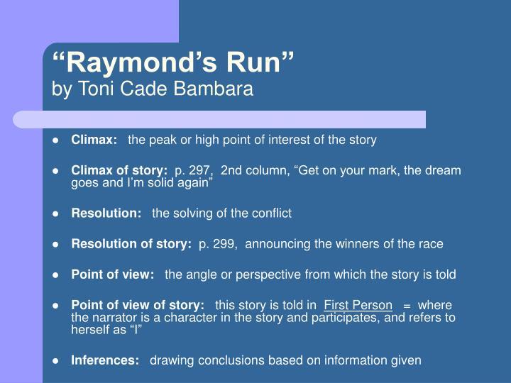 """""""Raymond's Run"""""""
