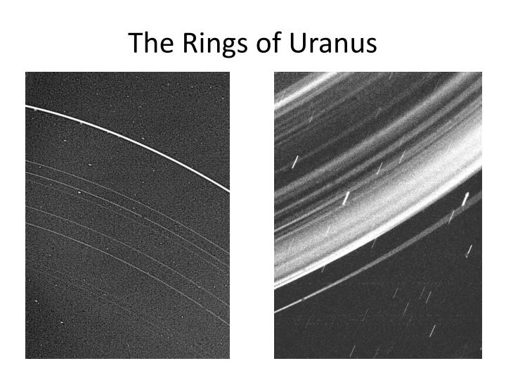 The Rings of Uranus